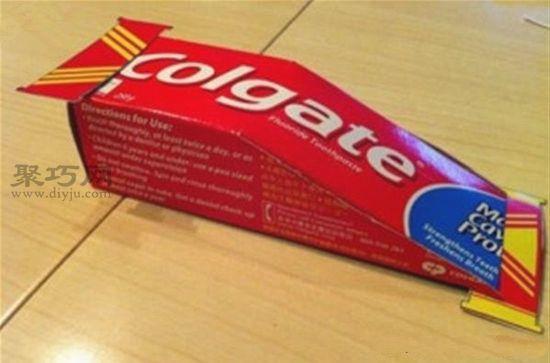 牙膏盒DIY小汽車3