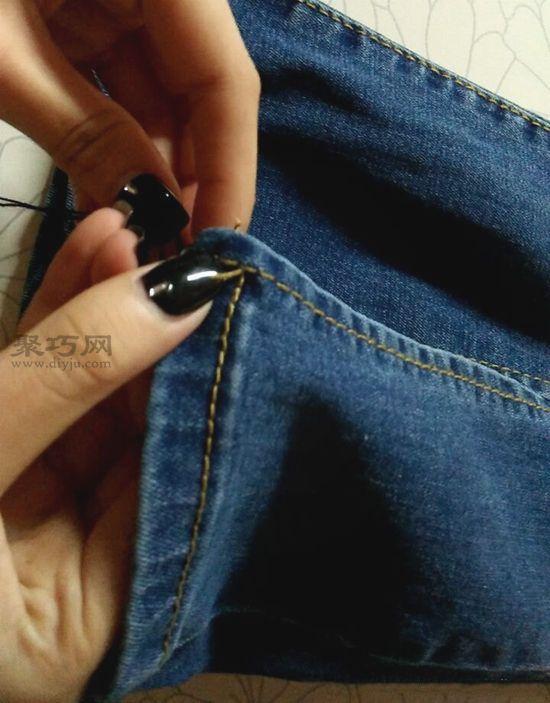 改造牛仔褲 第3步