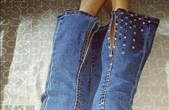 牛仔褲褲腳怎么剪時髦 看這個舊牛仔褲改造時尚褲子教程