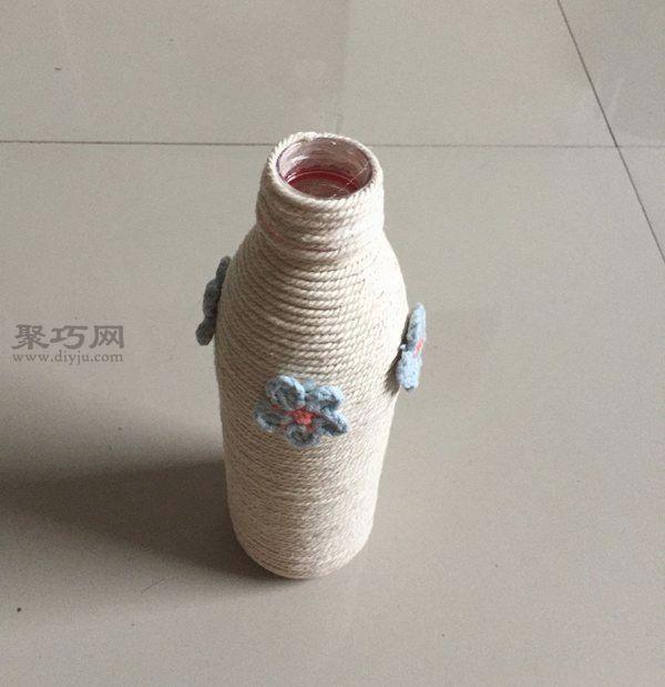制作清新文艺小花瓶 第7步