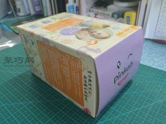 廢紙盒秒變汽車 第2步