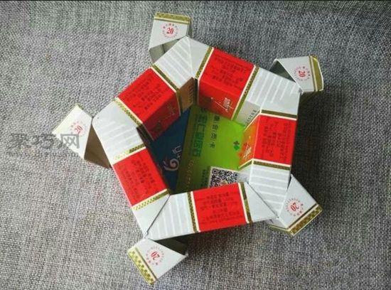烟盒diy收纳盒
