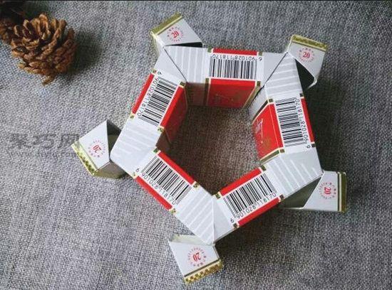 烟盒diy收纳盒 第4步