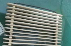 用雪糕棍簡單手工制作 冰棒棍創意DIY立體隔熱墊