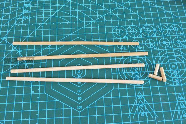 一次性筷子和開心果殼diy置物小碟 第2步