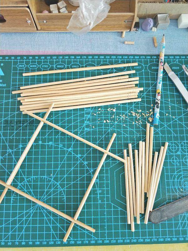 一次性筷子和開心果殼diy置物小碟 第7步