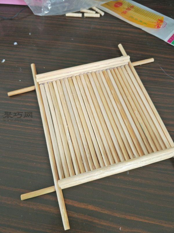 一次性筷子和開心果殼diy置物小碟 第11步