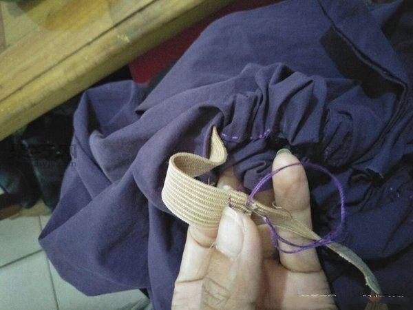 舊襯衣大改造 第8步