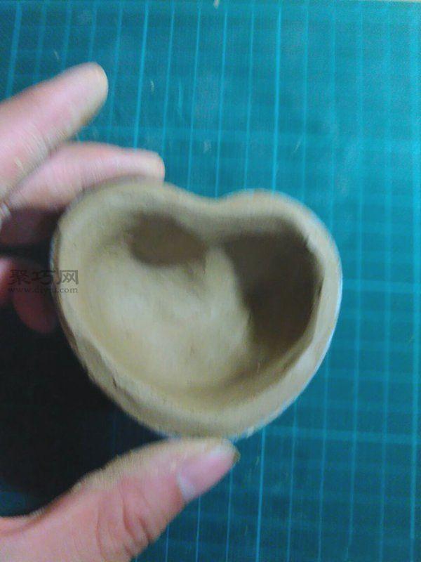 果凍殼制作創意小花盆 第9步