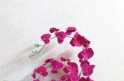 瓦楞紙和超輕粘土手工制作唯美花藝擺件教程圖解