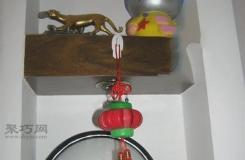 用飲料瓶蓋手工制作燈籠方法 教你瓶蓋燈籠怎么做