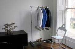 可做椅子的多功能衣架