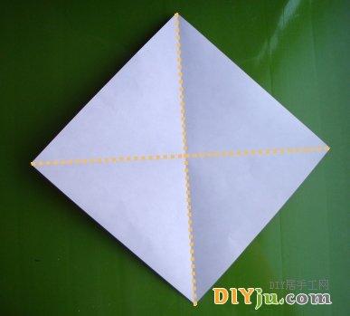 圣诞老人折纸图解1