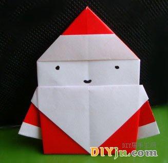 圣诞老人折纸图解18