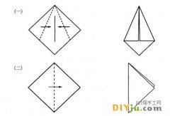 折紙的基本方法 對角折 對邊折介紹