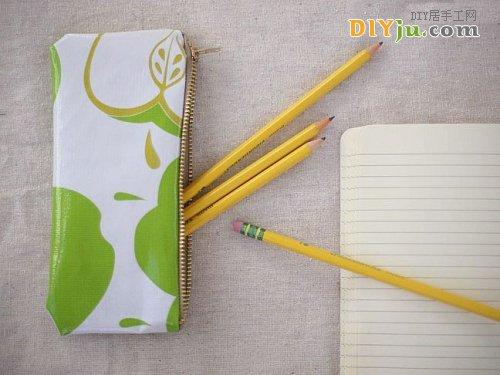 布藝DIY筆袋制作方法