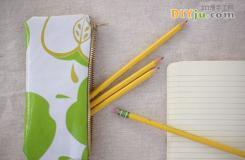 布藝DIY筆袋制作方法 自制鉛筆袋教程