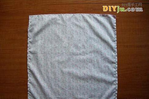 亮片布的正面相對縫合