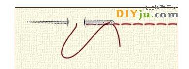 手縫基本針法:鎖邊縫