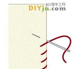 手縫基本針法:包邊縫和扣眼縫