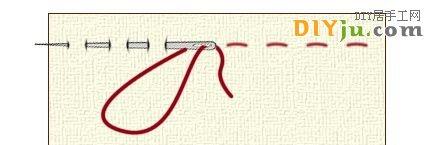 5种手缝基本针法图解