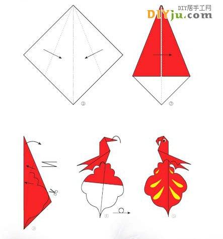 手工折纸活动,使学前班幼儿园小朋友们加深对大自然动物的认识和了解