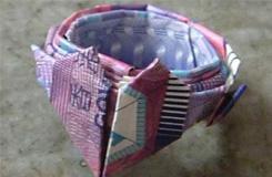用錢怎么折戒指 愛情公寓3紙戒指折法