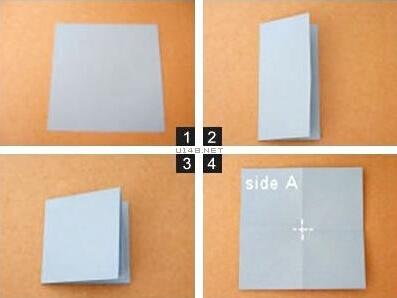 心型書簽的折紙方法