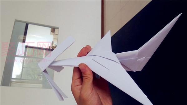折纸螺旋桨飞机