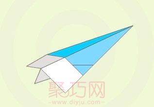怎么折紙飛機飛得最遠