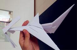 怎樣折紙螺旋槳飛機 折紙飛機戰斗機
