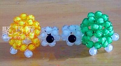 串珠小动物 怎样制作串珠金钱龟