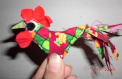 怎么縫春雞 打春小孩戴的小公雞縫制步驟