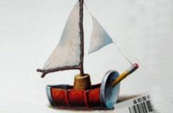 超简单的易拉罐制作小帆船教程 4岁孩子就能DIY