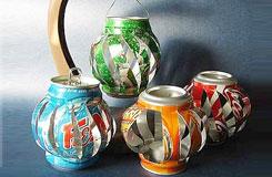 易拉罐手工制作灯笼 用易拉罐做灯笼方法
