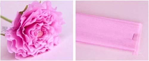 超唯美用纸折玫瑰花教程