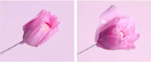 超唯美用纸折玫瑰花教程 纸玫瑰的折法图解