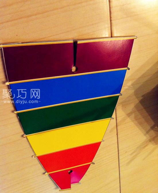 易拉罐手工制作环保小帆船