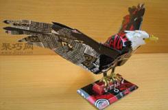 易拉罐手工制作大全:易拉罐做鳥類作品集