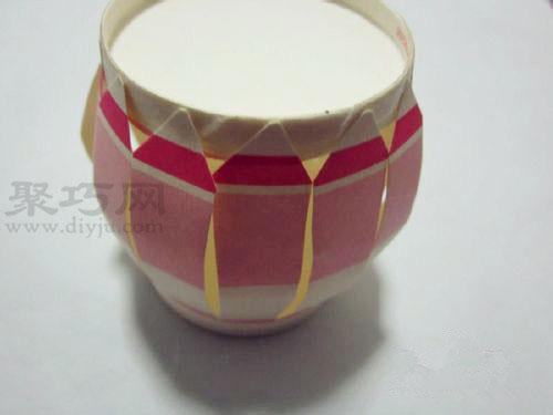 纸杯手工制作教程 用一次性纸杯做手工灯笼