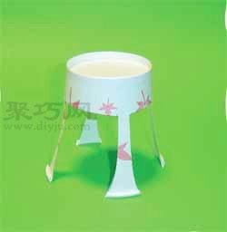 纸杯家具手工制作大全图片幼儿家具手工图片1
