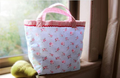 簡單手工布包的做法 小清新的自制便當袋