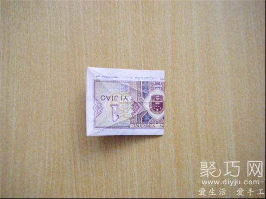 手工折纸 用钱折纸