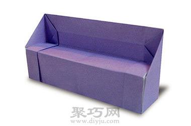 家居装饰折纸沙发图解教程