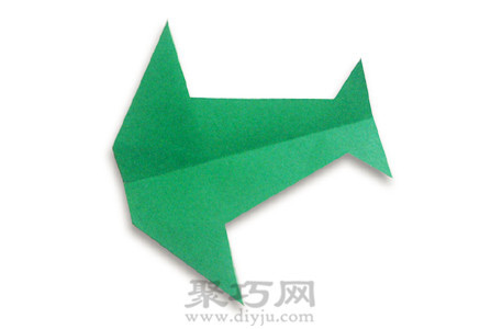 跟着折纸大全图解这就来尝试一下这个燕子