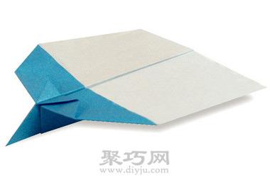 飞机折纸大全之滑翔纸飞机的折法
