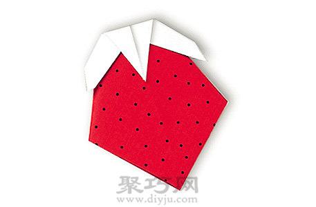 幼兒折紙草莓