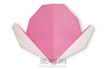 手工折纸鲜桃教程
