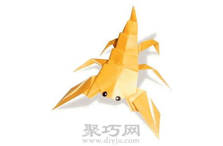 动物手工折纸图解教程-蝎子