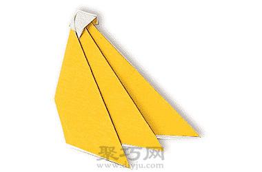 幼兒園簡單手工折紙香蕉教程